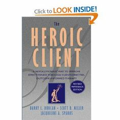The Heroic Client: A Revolutionary Way to Improve Effectiveness Through Client-Directed, Outcome-Informed Therapy.  Best counseling book I've ever read!