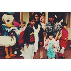 Happy Sibling Day to my Kuya and Ate! They are probably completely embarrassed by this photo of us at Disneyland but what else can they expect from their younger sister  by charlacsina