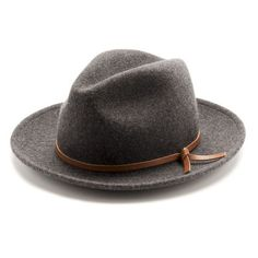 A best friend for travelers far and wide, the Luke takes heed from 20s, 30s and 40s style when your hat went with you everywhere. Includes a salvaged leather tie. 100% Merino Wool Salvaged leather Uni