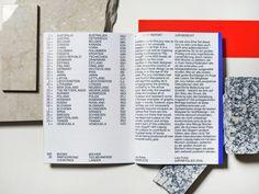 Seitenleiste, vielleicht gedruckt + Schnitt — Überlagerung der Abschnitte = Ineinandergreifen irgendwie ...