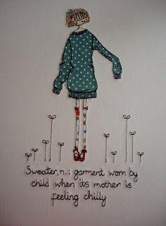 Supercutetilly Love all her work! Just love this cute appliqué art!!! Inspirational appliqué:)