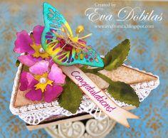 Samantha Walker's Imaginary World: 3D Scalloped Cake Box by Eva