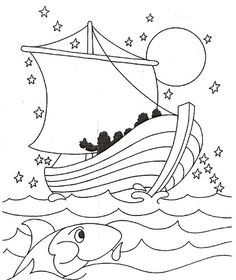 1000 Images About Vbs On Pinterest Jesus Calms The