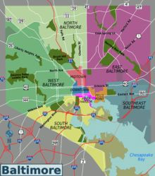 List of Baltimore neighborhoods - Wikipedia
