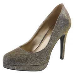 Iron Man costume Women's Holly Shimmer PumpWomen's Holly Shimmer Pump, Metallic Gold