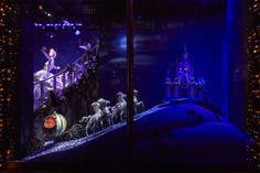 Harrods #Disney #Christmas Windows - #Cinderella by Versace