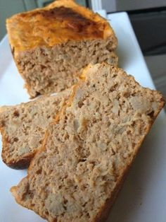 Tuna bread, light and very easy! - C gourmet secrets - light - Salad Recipes Healthy Super Dieta, Cooking Kits For Kids, Cooking With Essential Oils, Quiches, Cooking Light, Finger Food, Easy Meals, Food Porn, Food And Drink