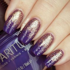SpaRitual 3/4 Gradient manicure with Illume, Knowledge and Clarity