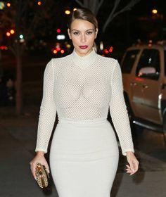 Kim Kardashian Out in NYC on November 18, 2013
