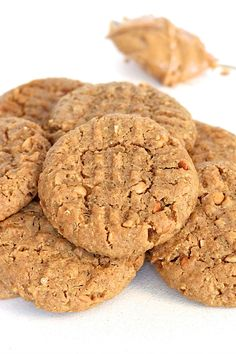Peanut Butter Quinoa Cookies. Chewy whole wheat peanut butter cookies with a hint of honey and an incredible nutty quinoa crunch in every bite. A healthier cookie that you'll love from first bite!