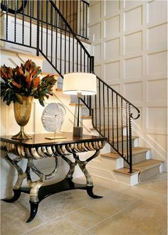 Transitional Foyer by Tracey Butler