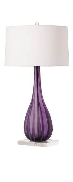 Purple Table Lamp Gorgeous 60 Best Purple Lamp Images On Pinterest Contemporary Table Lamps