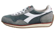 Diadora Womens Heritage Track S Stone Wash Running Shoes Sneakers  #diadora #RunningCrossTraining