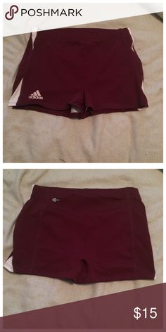 Adidas Shorts Maroon adidas shorts! Size large. Great condition! Adidas Shorts