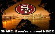 Proud and Faithful Niner Fan Forever. Sf Niners, Forty Niners, Best Football Team, Football Girls, Football Humor, Nfl Football, San Francisco Football, San Francisco Giants, 49ers Pictures