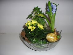 Blomsterdekoration.