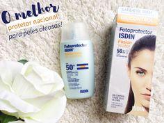 Fotoprotector-Isdin-Fusion-Water-Oil-Control-FPS-50: melhor protetor solar para peles oleosas e/ou com acne!