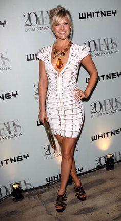 Ali Larter- Herve Leger Spaghetti Strap Wedding Dress, Spaghetti Straps, Pallas Couture, Bcbg, Ali Larter, Herve, Sexy Legs And Heels, Beautiful Actresses, Sexy Dresses