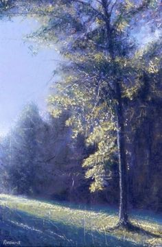Morning Burn by Bob Russin Pastels Pastel ~ 17 in. x 11 in.