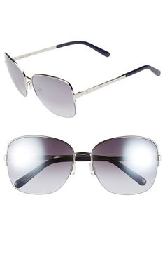 Bobbi Brown 60mm Semi-Rimless Sunglasses