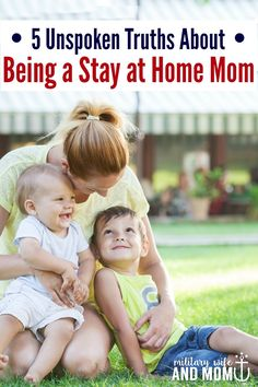 5 secrets about being a stay at home mom. The tough days of motherhood we don't talk about, but we should.