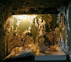 Though we don't like the idea of ripping up ANY book, we can't deny this is beautiful!