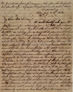 This Civil War condolence letter for General Paul Semmes was writen by Mary Ogden to Emily J. Semmes, July 10, 1863.