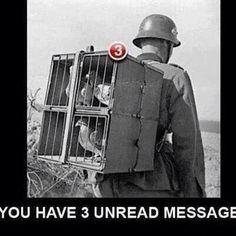 Vintage texting