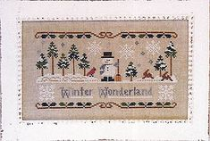 Snowman & Snowmen - Cross Stitch Patterns & Kits (Page 3)