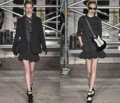 Moschino Cheap and Chic 2013-2014 Fall Winter Womens Runway Collection ...