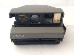 80s Polaroid Spectra 2 Camera vintage by MyVintageApartment