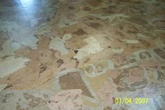 Cave City Welcome Center & Chamber of Commerce. Builders paper, Elmer's glue and polyeurethene make a faux rock floor. Rock Floor, Cave City, Faux Rock, Elmer's Glue, Chamber Of Commerce, Hardwood Floors, Texture, Vacation, How To Make
