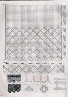 Crochet Curtain Pattern, Crochet Curtains, Curtain Patterns, Lace Curtains, Filet Crochet, Crochet Art, Crochet Doilies, Knitting Patterns, Crochet Patterns