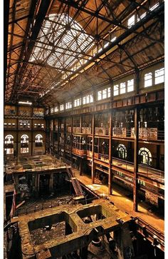 Interior design | decoration | home decor | dream | Abandoned New York power plant