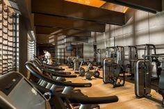 Four Seasons Hotel Pudong Fitness Studio Fitness Design, Gym Design, Design Ideas, Gym Interior, Interior Design, Hotel Gym, Hotel Room Design, Gym Room, Healthcare Design