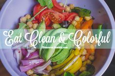 Eat clean and colorful