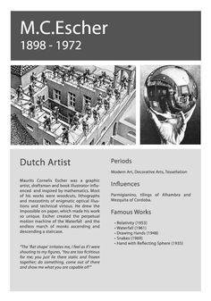 Artist Info Escher