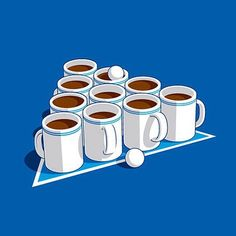 Coffee pong is for me!