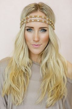 jeweled headband @three bird nest