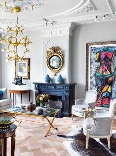 Decoration Inspiration, Interior Design Inspiration, Home Decoration, Daily Inspiration, Decor Ideas, Eclectic Decor, Elle Decor, Home Decor Styles, Living Room Decor