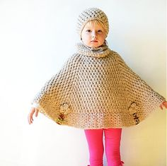 crochet poncho..Inspiration