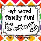 -at Word Family Fun! Freebie!