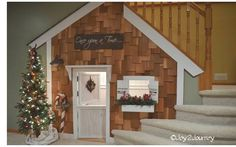 Refreshing Home: DIY~ Under the Stairs Playhouse