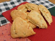 Jalapeno-cheese scones