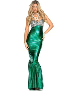 Sexy Under The Sea Costume | Cheap Mermaids Costumes for Halloween