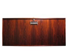Floating mixing cabinet in rosewood. $2750