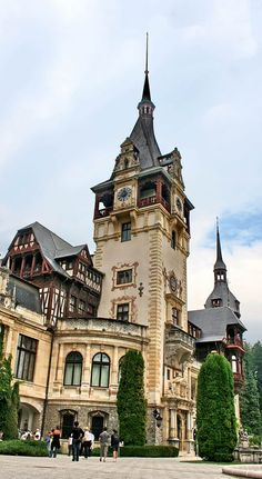 Peleş Castle (Romanian: Castelul Peleş) is a romantic castle in Sinaia, Romania, built between 1873 and 1883, and is considered by some to be the most beautiful in Europe and in the world. In 2006, the Romanian government announced that the castle will be returned to King Michael.