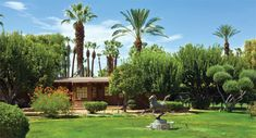The Celebrity homes in Palm Springs and Rancho Mirage are like going back to the famous 50's!