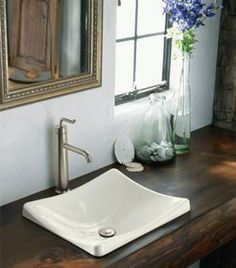 Love the counter top and sink!