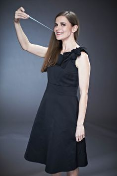The adorable Louise Brealey from the Radio Times' Sherlock stars exclusive picture gallery (click to see the rest - Moffat, Gatiss and Martin Freeman) :)